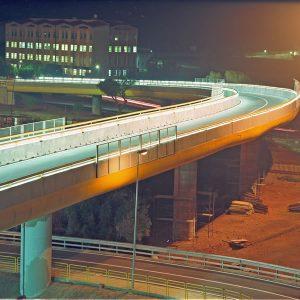 Luigi Masciotta - Ponte stradale di collegamento a Cagliari