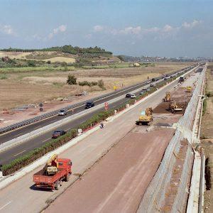 Luigi Masciotta - Terza corsia Autostrada Roma-Fiumicino